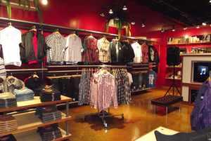 оборудование для магазина женской одежды