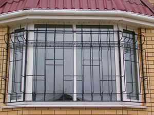 Изготовление металлических решеток на окна