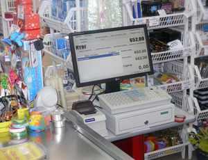 оборудование для магазинов самообслуживания