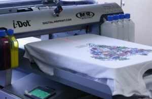 оборудование для печати на ткани
