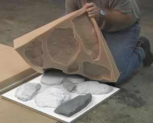 производство камня из гипса