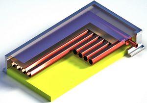 производство солнечных коллекторов