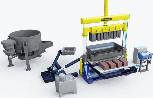оборудование для производства пескоблоков