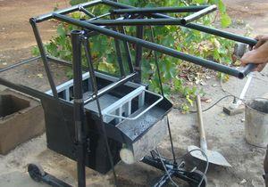 станок для производства сплитерных блоков