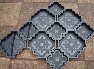 формы для производства брусчатки