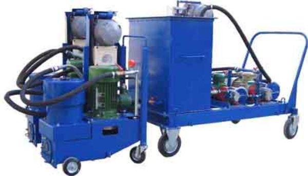 установка попереработке отработанного масла в дизельное топливо